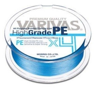 Varivas - New High Grade PE  4X   mt.150 Lb 18/21/25
