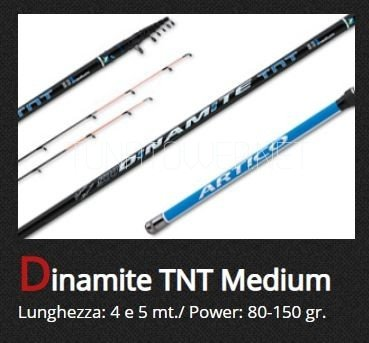 Artico - Dinamite TNT  Medium   mt. 4