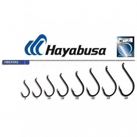 Hayabusa - Serie HBEK-562 High Carbon Steel Black Nickel