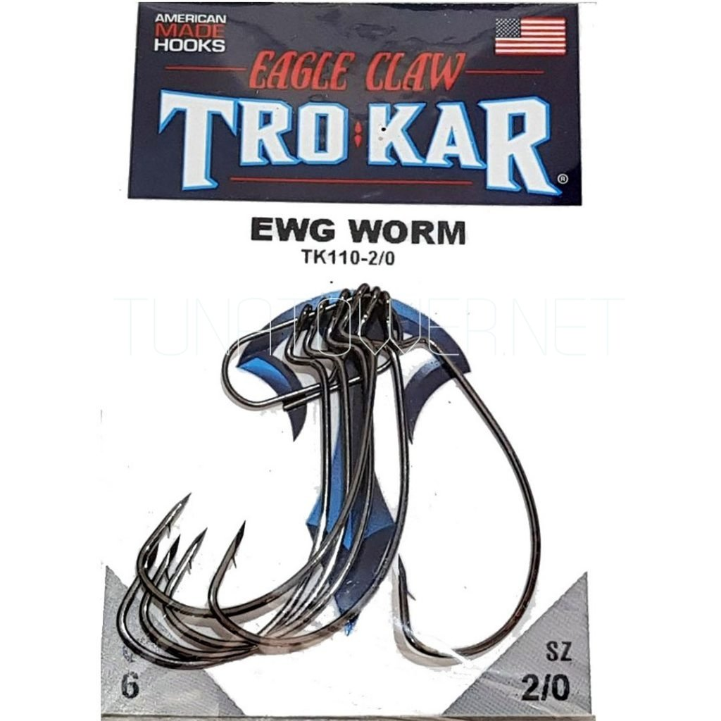 Eagle Claw - Trokar EWG Worm Hook TK110