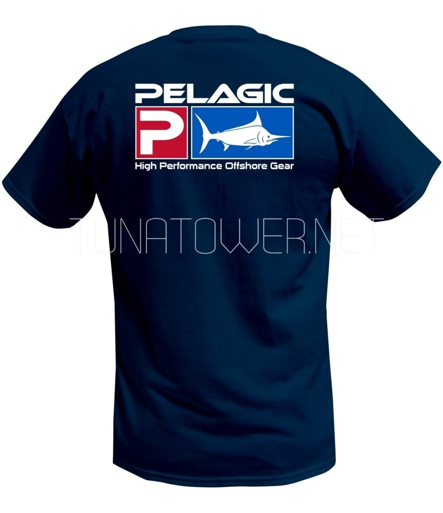 Pelagic Flag Yellowfin Tee