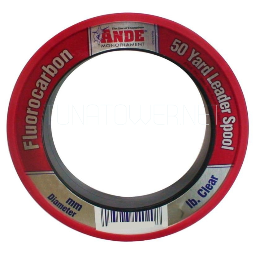 Ande - Fluorocarbon FPW-50-60 Leader Material 50 Yard Spool