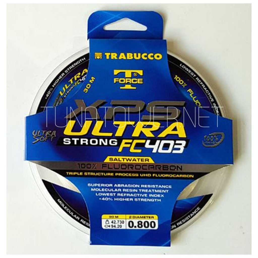 Trabucco - T-Force XPS Ultra Strong FC403 SW  Fluorocarbon 100% 30 mt New