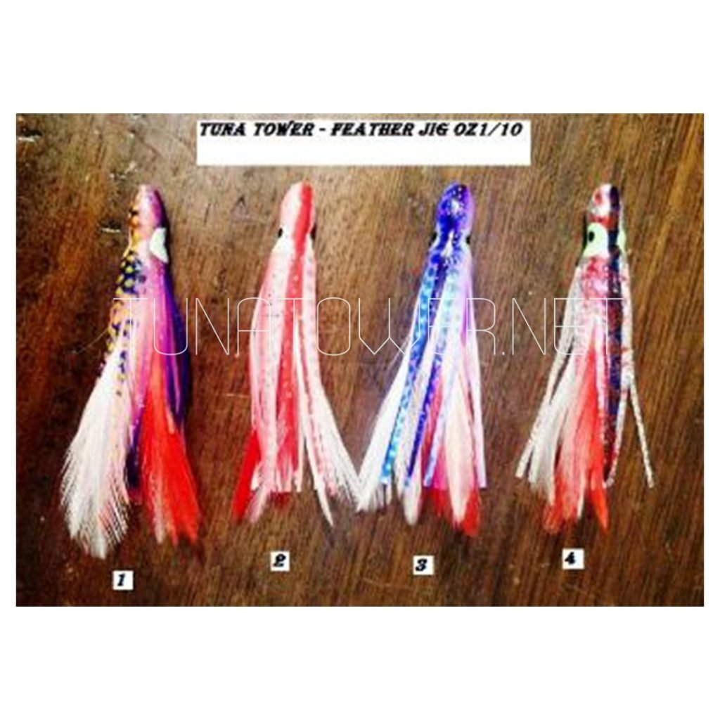 Feather Jig 1/10 Oz