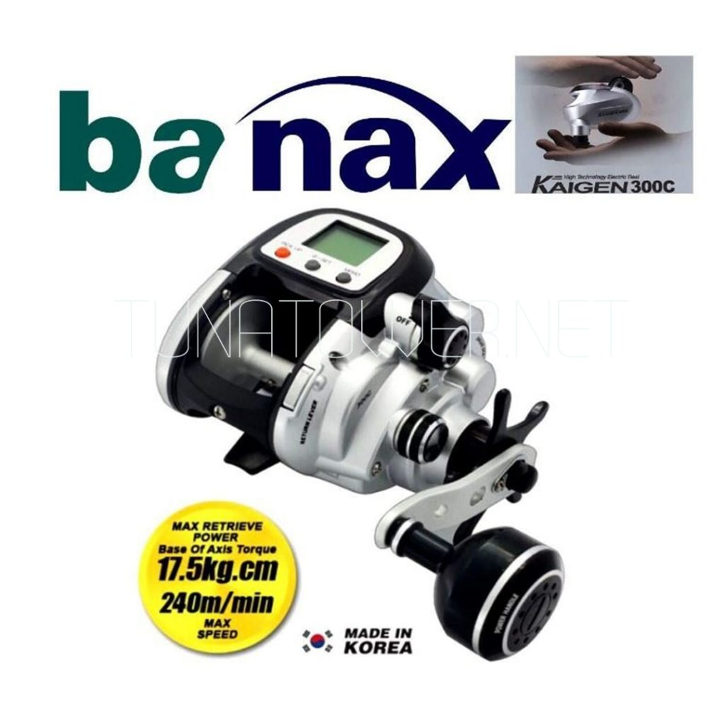 Banax - Kaigen 300 C Electric Multiplier Reel